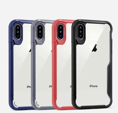 coque iphone xr dure transparente