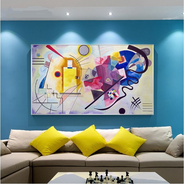 2019 Kandinsky Handpainted Hd Print Famous Abstract Art Oil Painting Home Wall Decor On High Quality Canvas Multi Sizes L128 From Bstshopping