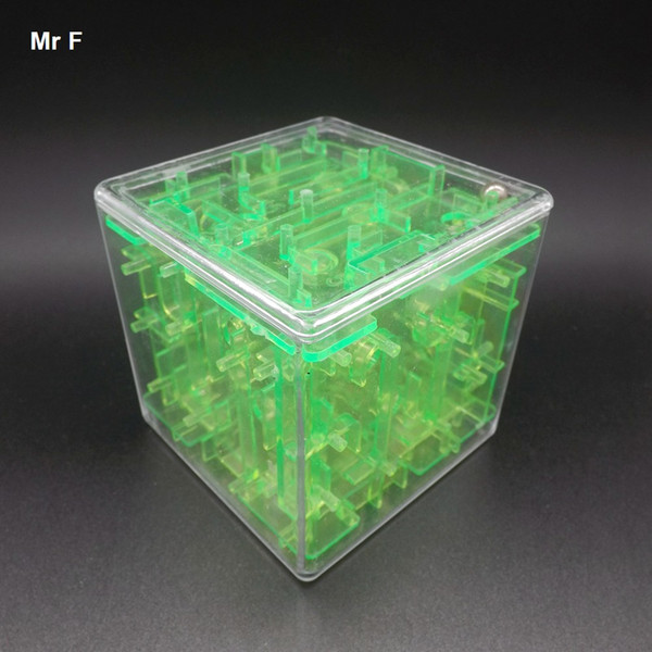 Magical Intellect Ball Maze 3D Stereo Learning Educational Toys Labyrinth Game Toy Intelligence IQ Brain Teaser