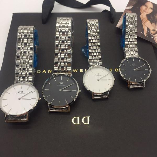 2018 excellent Quality Vintage Ins fashion 32mm 36mm watches Women watches Quartz Watch Female Clock Montre Femme Wristwatches