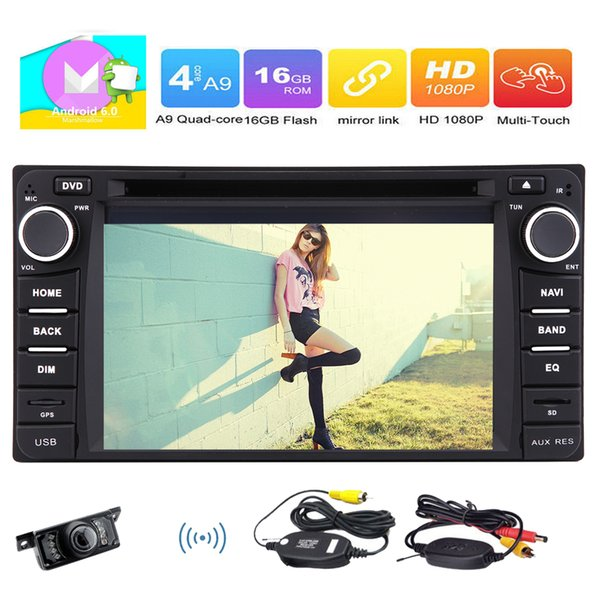 Special For COROLLA EX(2008-2013) GPS Car Stereo HD 1080P Android 6.0 System Car DVD Player 6.2'' Capative Touchscreen Bluetooth Phone