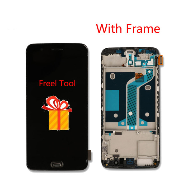 Oneplus 5 LCD Display With Frame Touch Screen 100% New Digitizer Screen Glass Panel Accessory For Oneplus 5/Five