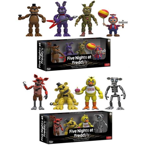 Acquista 4 Pezzi / Set Funko Pop 5cm Five Night At Freddy FNAF