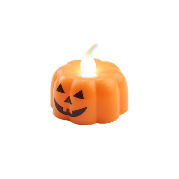 Classic candle lantern pumpkin design small LED durable Indoor candle light candle lantern Halloween party decoration Hot sale