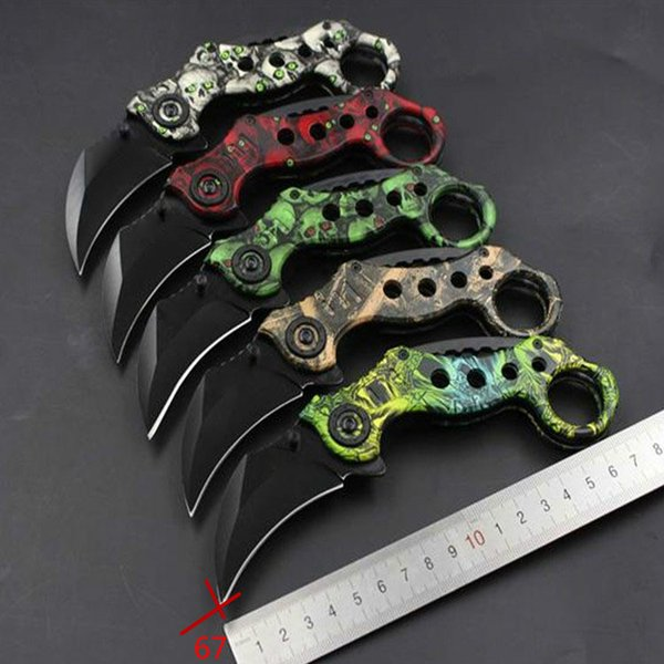 Outdoor knives, sharp-edged scorpion claw knife, konjac claw knife, camping jungle wild survival knife G002