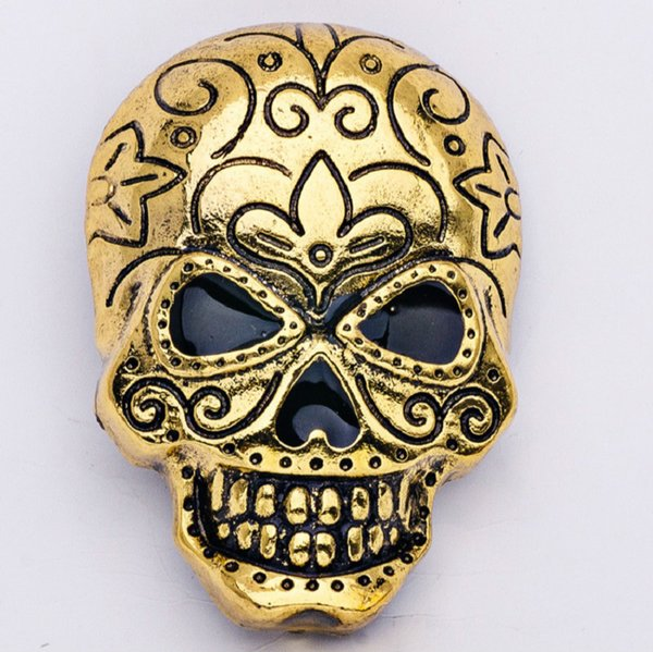 Fashion environmental protection alloy Halloween skull pin brooches for men and women Punk high grade brooch jewelry
