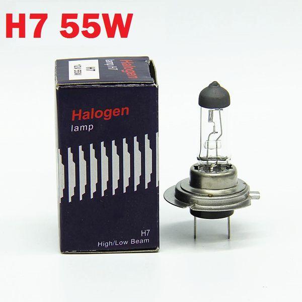 good quality 12V 55W H7 halogen car headlight fog lamp 4300k