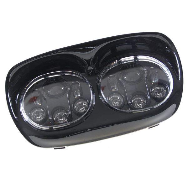 Pour Harley Road Glide Accessoires Phare LED adaptatif Projecteur de moto Projecteur de phare Eclairage de conduite de moto