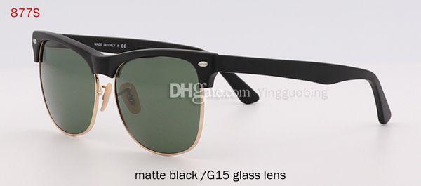 lente in vetro nero opaco / G15