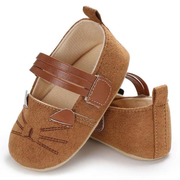 Baby Infant Kids Girl Soft Sole Crib Toddler Newborn Shoes Flock Cloth new and high quality Great gift to baby hot sale 2018