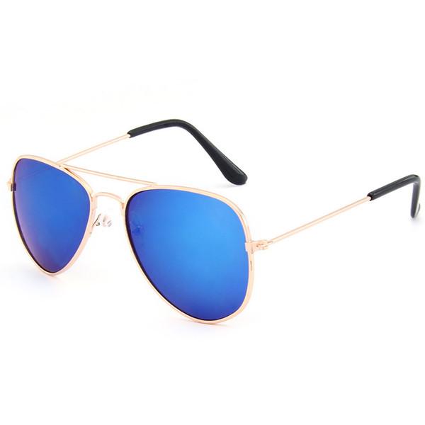 Sunglasses for Kids Classic Pilot Mix Color Sun Glasses Boys Girls Designer Adumbral Fashion Children Summer Beach Sunblock New