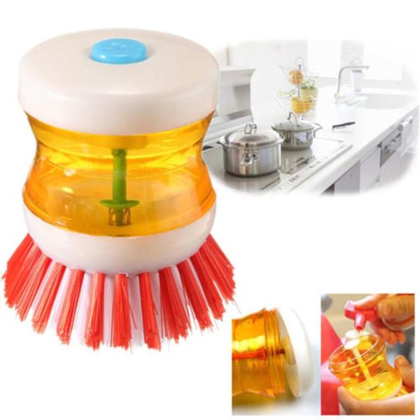 New Home Kitchen Washing Utensils Pot Dish Brush con detersivo per sapone liquido