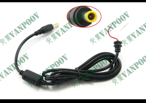 New DC 5.0 x 3.0mm Replacement Power Supply Tip Plug Connector With Cord / Cable For Samsung Laptop Adapter 1.2m Free shippping- P5030C12