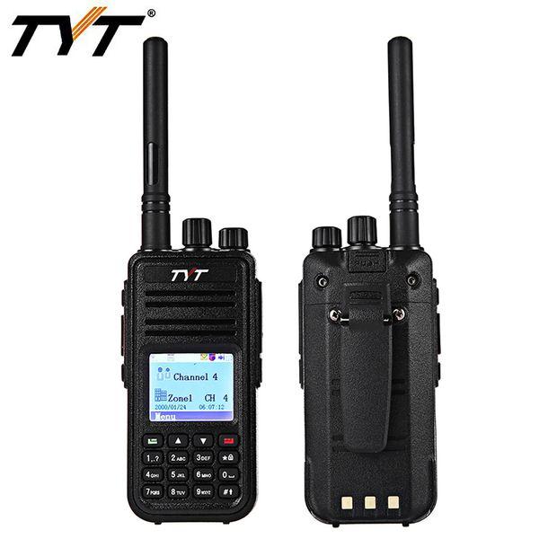 TYT DMR Digital Radio Transceiver UHF 136 - 174 MHz 1000 Kanäle LCD Display Vox Walkie Talkie mit bunten Display