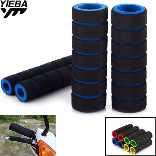 universal Handbar Motor Racing Bicycle Motorcycle HandleBar Foam Sponge Grip Cover for YZ450FXF Z09 MT-09 FZ07 MT-07 FZ-10 MT-10