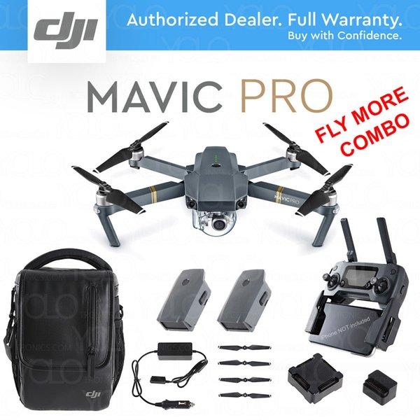 В наличии !!! Новейший DJI Mavic pro беспилотный летающий комбо с 4K видеокамерой 1080p rc вертолет 27 минут полета timDJI Mavic Pro