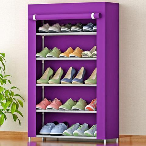Multi-layer combination shoe rack dustproof storage shoe cabinet storage rack with dust cover, space saving, multi-purpose mx5115