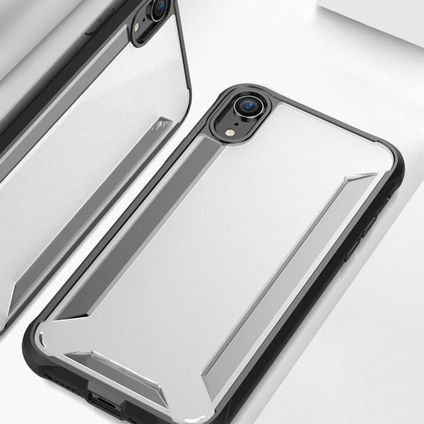 Для Iphone XS Max чехол гибридный мягкий бампер TPU ПК задняя крышка телефона чехлы для Iphone XR XS MAX по niubility