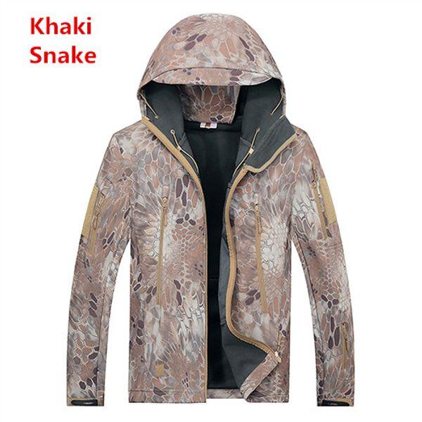 Khaki snake