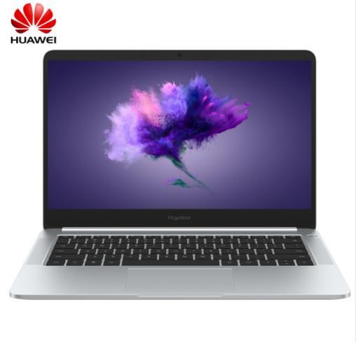 2018 honra HUAWEI MagicBook 14 polegadas 1920x1080 FHD 8-Gen CPU i5-8250U / i7-8550U GeForce MX150 2G GPU 8G 256G SSD win10 computador portátil de impressão digital