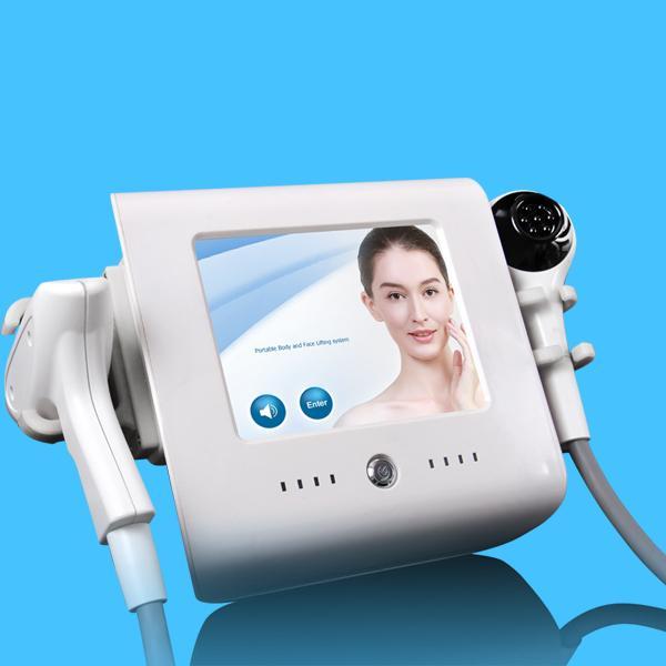 Thermo RF Facial Termal Levantamiento Enfocado Terapia de radiofrecuencia Máquina Lifting Lifting Cuidado de la piel Antiarrugas Anti envejecimiento Dispositivo de belleza
