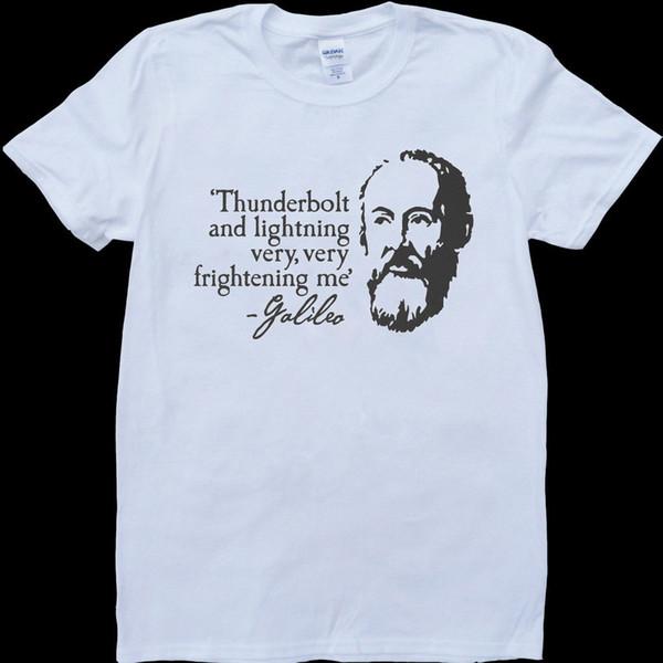 Raio e Relâmpago Muito Muito Assustador Me Galileo Mens Engraçado T-Shirt