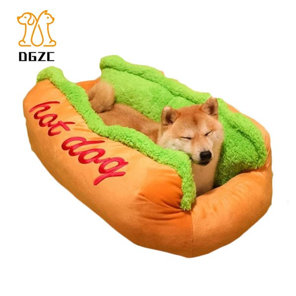 best selling Warm Dog Bed Removable Cover Pet Sleeping Bag Soft Cat Nest House Hot Dog Kennel Cozy Sofa Cushion for Cat Puppy Dropshipping