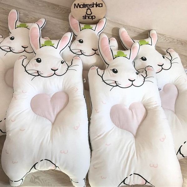120 см плюшевый кролик игрушка ребенок спит подушка спинка мягкие мягкие подушки медведь кукла новорожденный Playmate Кролик кукла дети подарок на День Рождения