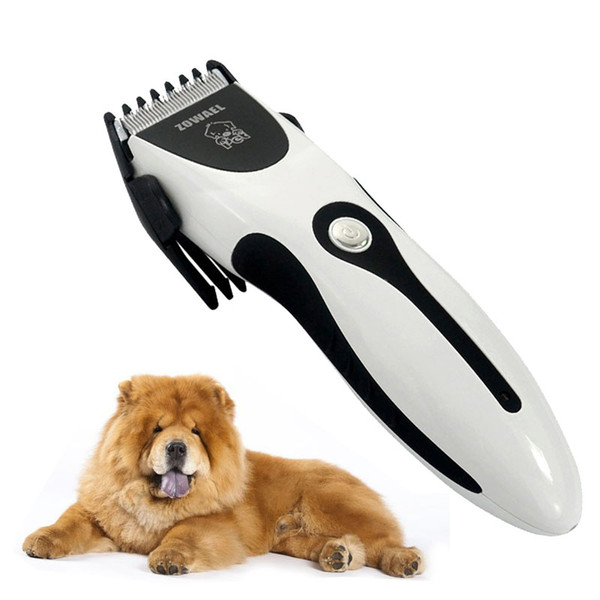 Professional Pet Dog Hair Trimmer Clipper Rechargeable Animal Electric Cat Grooming Hair Cutter Shaver Razor With Comb Brush