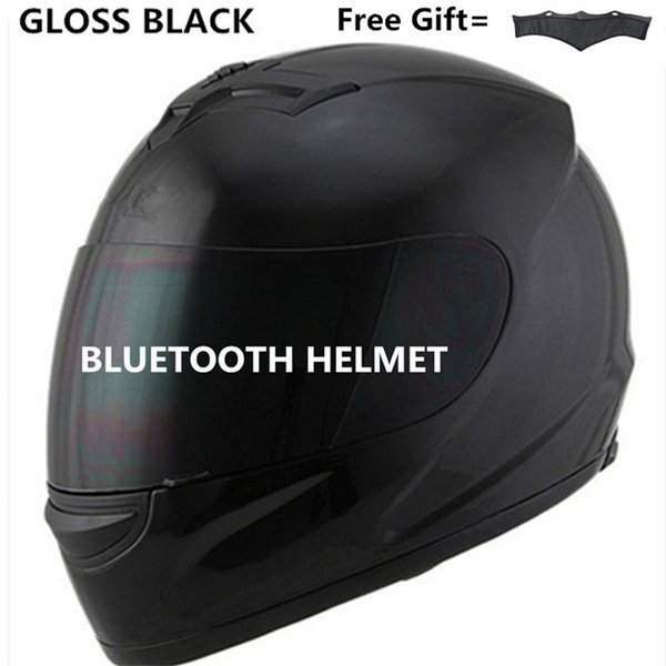 Casque de moto haut-parleur Bluetooth Intercom Headset, BT Interphone système de communication