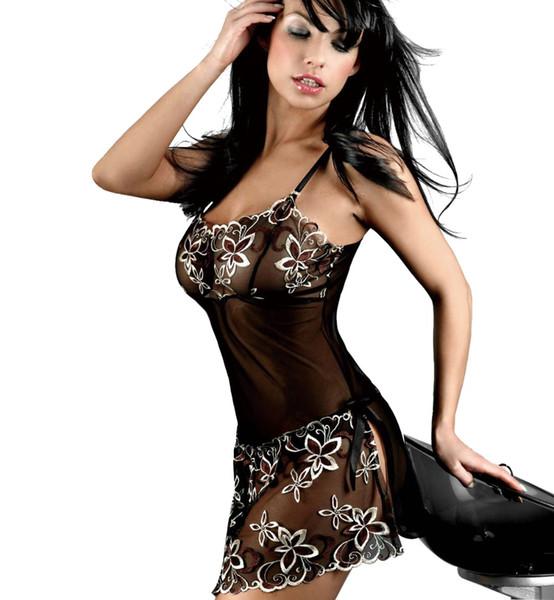 10 Pz Hot Erotic Lingerie Sexy Pizzo Sleepwear M-6XL Porno Sexy Baby Doll Costumi Pigiama Teddy Donna Pizzo Porno Babydoll All'ingrosso
