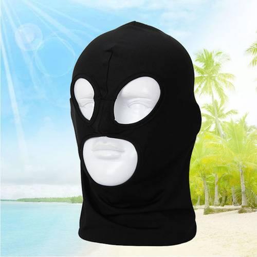 Balaclava Motorcycle Neck Winter Ski Full Face Mask Cover Hat Cap Black