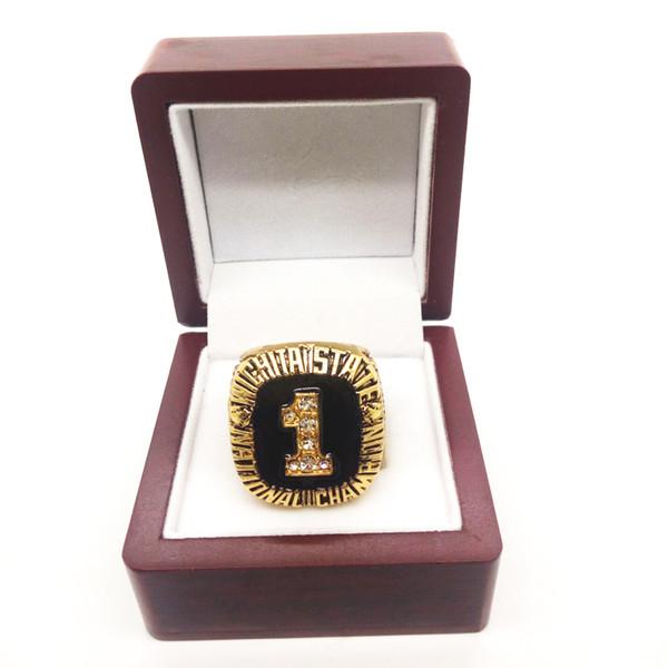 1989 Wichita State University WSU college world series Ring Men's Classic Ring Manufacturer Fast Shipping