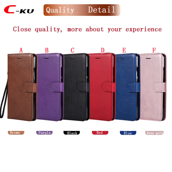 Retro Wallet Leather Case For Redmi S2 4A 4X NOTE3 NOTE 5A Xiaomi 8 6X Huawei Mate7 P20 Pro P Smart NOKIA 3 5 6 2018 640 Flip Cover 1pcs