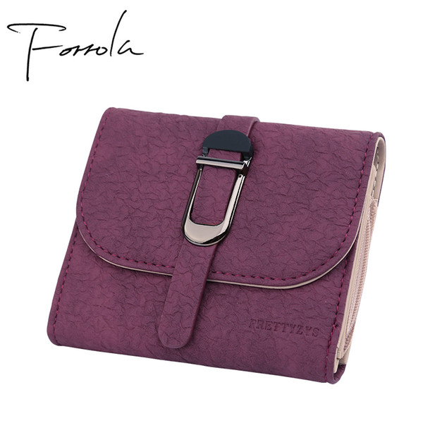 2018 Latest Women Wallets Leather Small Wallet Designer Zipper Coin Purse Card Holder Clutch For Girls Portefeuille Femme