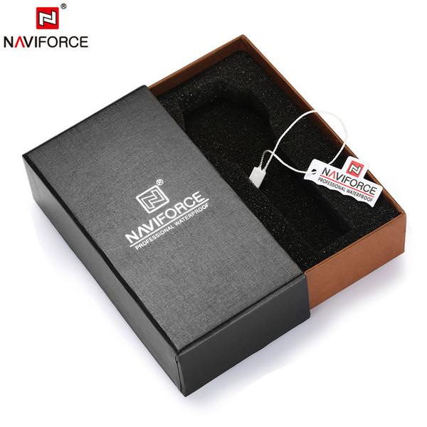 NAVIFORCE Brand Original Boxes Men Watch Box Wristwatch Paper Gift Box