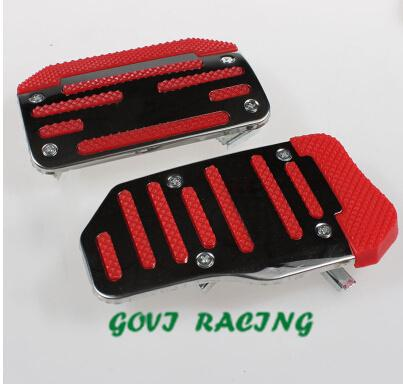 universal car pad pedals set cover aluminum 2pcs/3pcs manual /automatic vw golf pad pedals vw bora x3 car styling