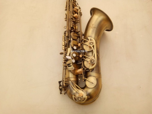 High Quality YANAGISAWA T-992 Tenor Saxophone Musical Instrument Brass Antique Copper Surface Bb Tone Sax With Case Mouthpiece