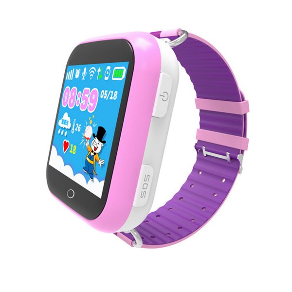 Smart Baby Watch Phone With GPS Tracker WIFI Location SIM Card 1.54 inch Touch Screen 600mAh Q750 Children's Smartwatch for Kids