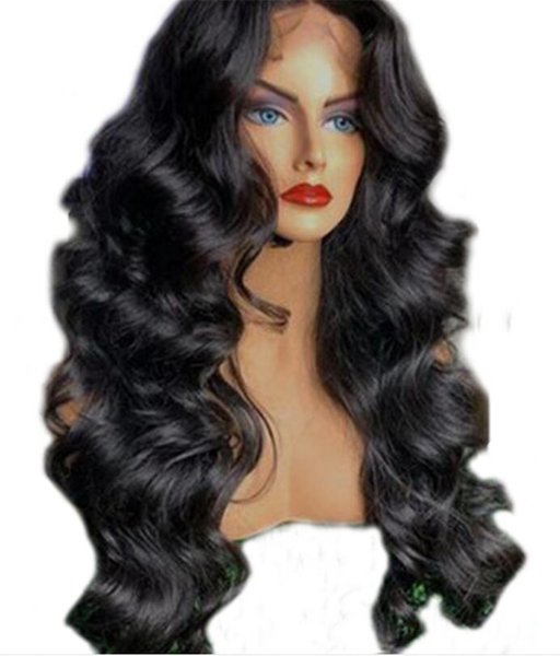 Unprocessed Brazilian Virgin Human hair Glueless 5*4.5'' Silk Top Full Lace Wigs Loose Wave Wig With Baby Hair For Black Women