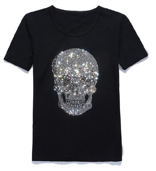 brand designer new style t designer t shirt skull marble 3d printed brand tshirt for men women casual tees Short-sleeved cotton T-shirt