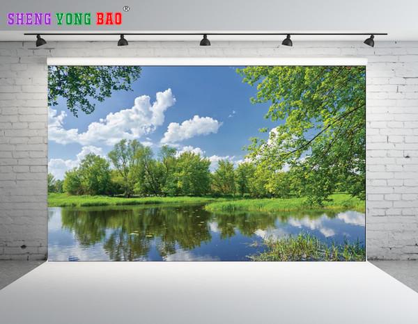 SHENGONGBAO Vinyl custom Scenery theme Vinyl Photography Backdrops Prop Custom Photography Background TTZP-23