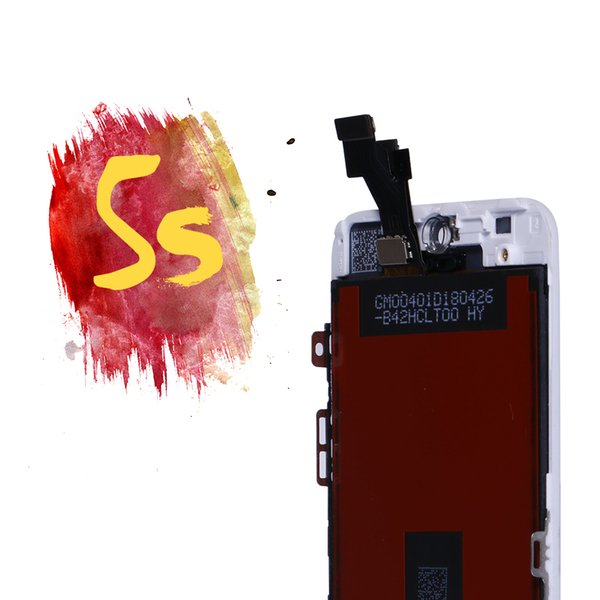 Display Assembly for iPhone 5s SE LCD Touch Screen Digitizer Replacement Panel for iPhone 5 Parts SE With Tempered Glass + Tools