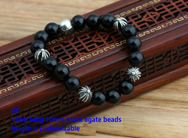 4# 18cm 10mm beads bracelet