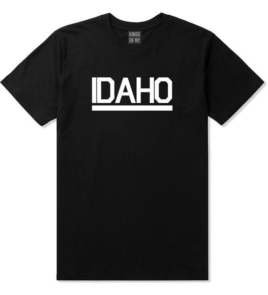 Короли штата Нью-Йорк Айдахо США ID с коротким рукавом футболка