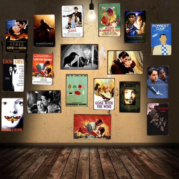 Classic Movie Tin Sign Metal Plate Iron Painting Kids Room Wall Bar Cafe Shop Home Art Craft Decor 30X20CM DU-1398