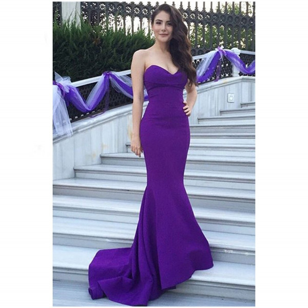 Slim fitting evening party with tail tail and tail show fish tail: long silk evening dress