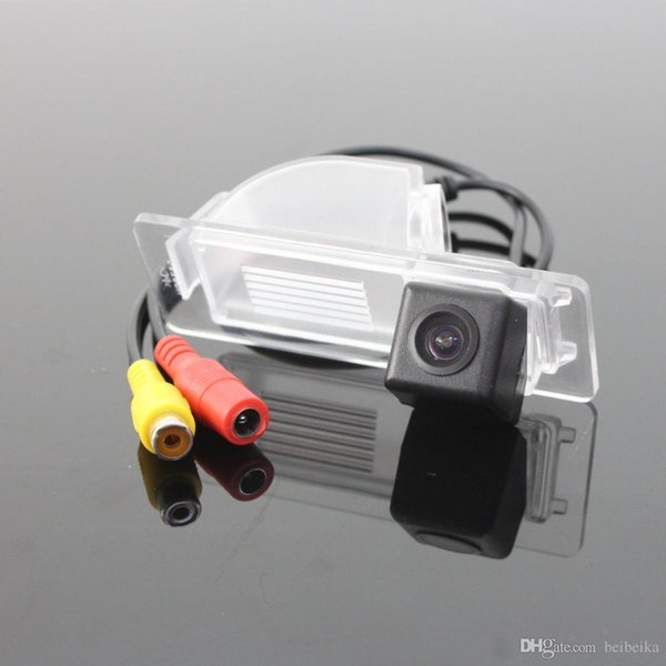 Car Rear View Camera For Volkswagen VW Jetta Reverse Camera / HD CCD RCA NTST PAL / License Plate Light OEM