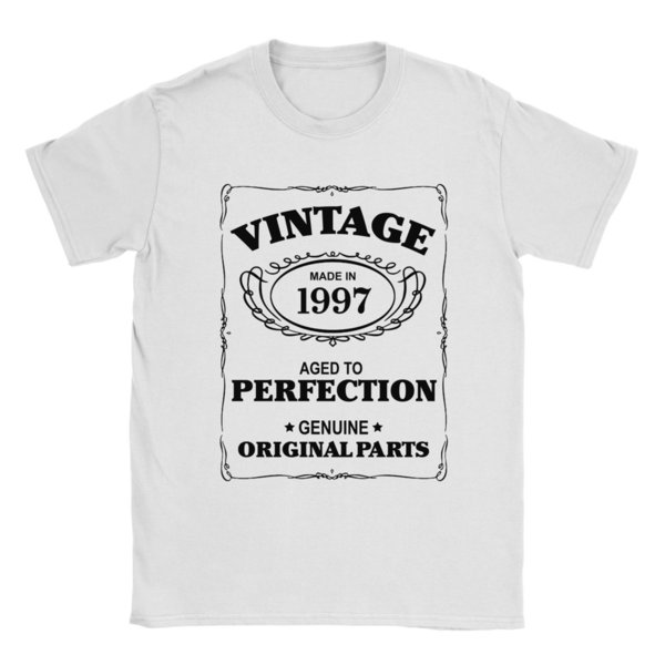 21st Birthday T Shirt Born In 1997 Mens Present Gift Age