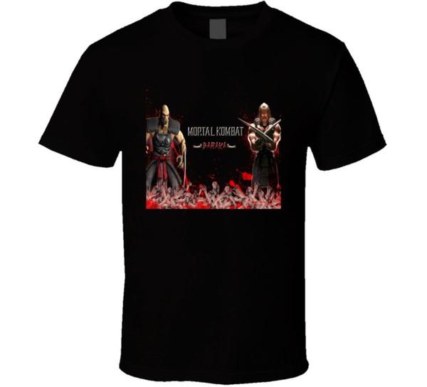 Baraka Mortal Kombat 9 T-shirt de jeu vidéo